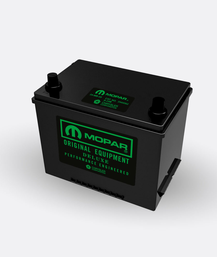 Mopar green group 24 battery