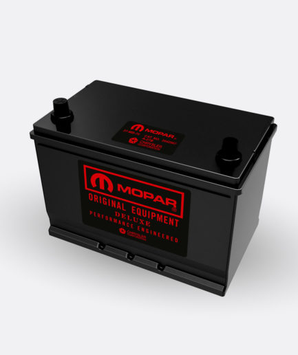 Mopar Red group 27 battery