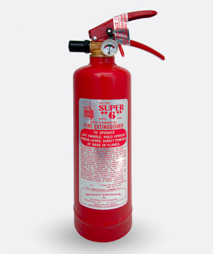 Mopar Red Cap 210R Extinguisher Sticker