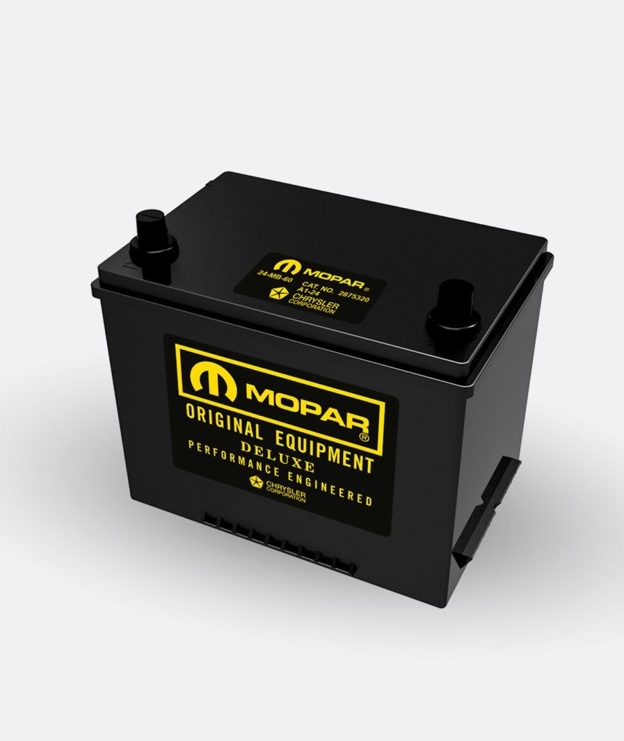 Mopar yellow group 24 battery