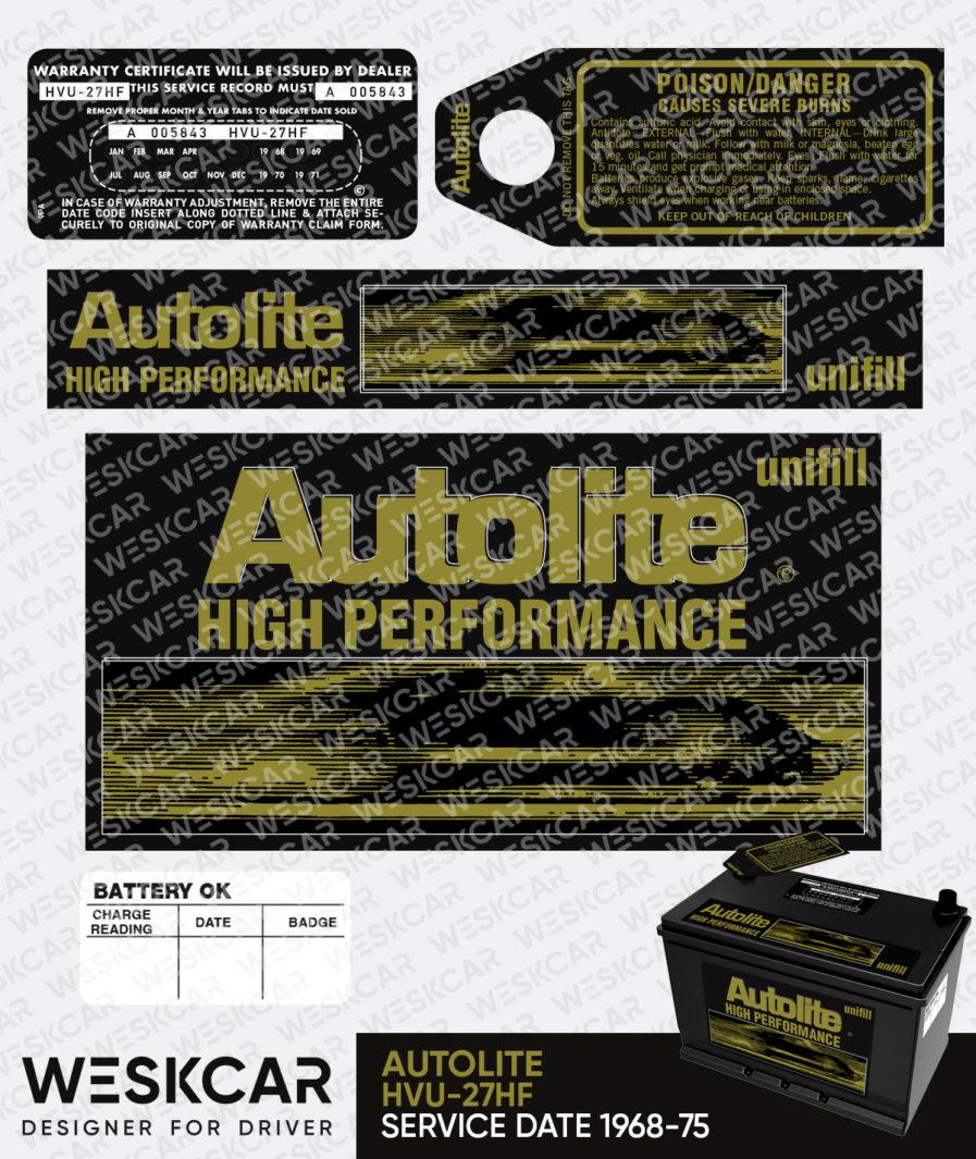 Autolite High Performance unifill