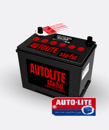 Autolite Red group 24 battery