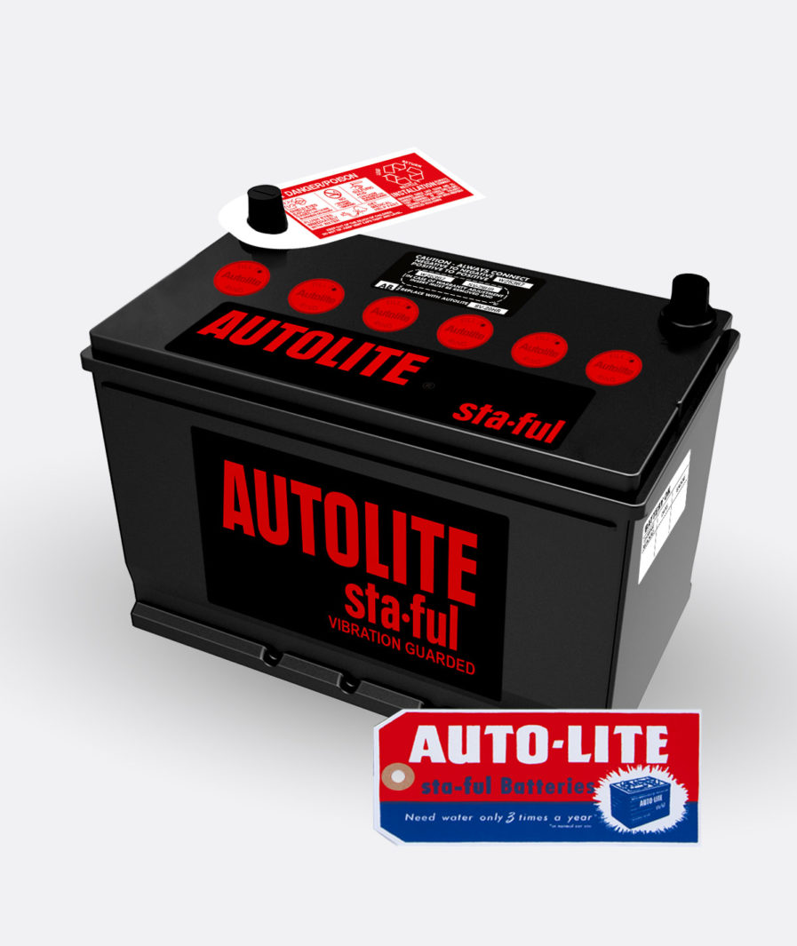 Autolite Red group 29 battery