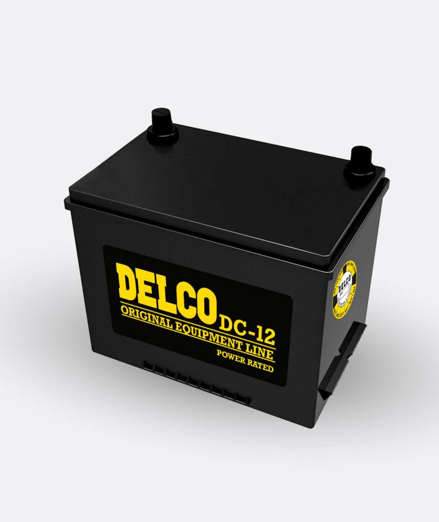 Delco Energizer Battery DC-12