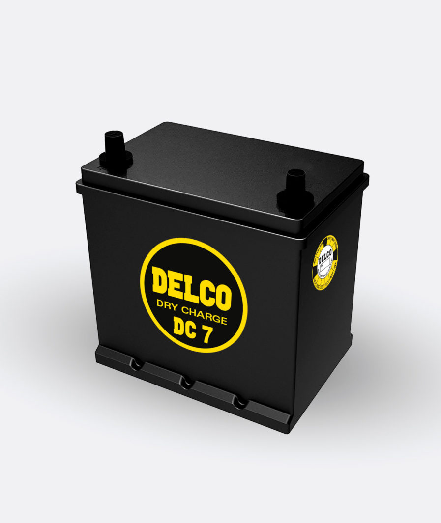 Delco Energizer DC-7 Battery