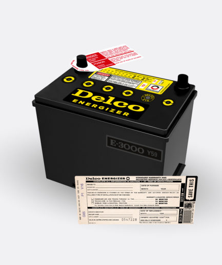 Delco Energizer Y59 battery