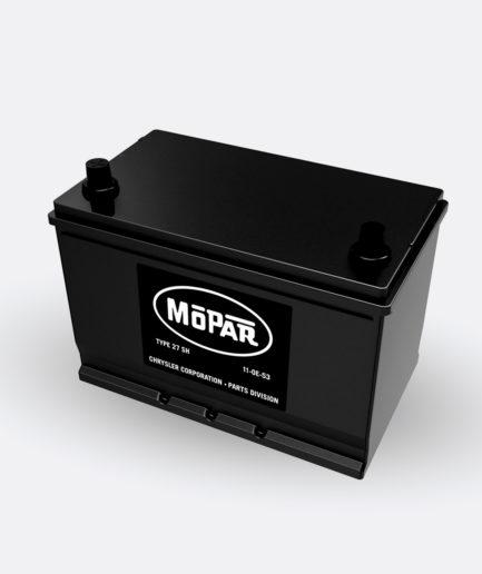Mopar 27SH Battery (1956-1958)