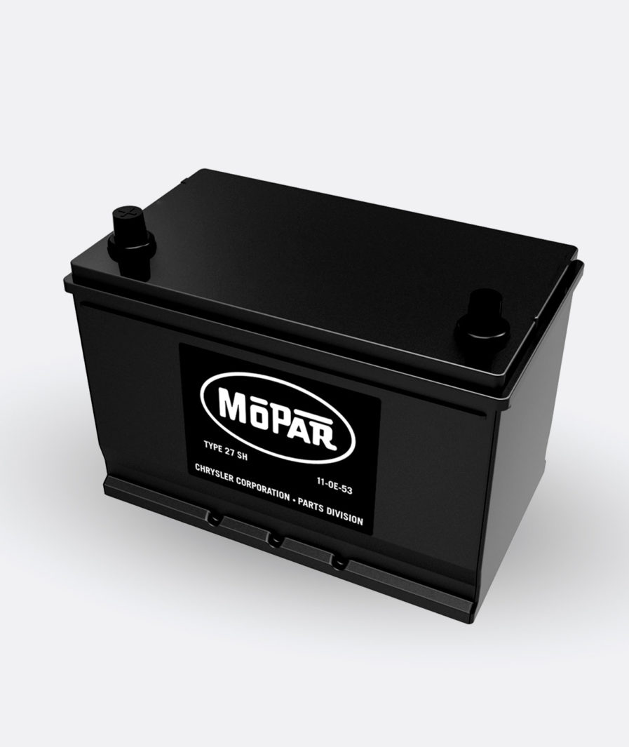 Mopar 27SH Battery (1956-1958)