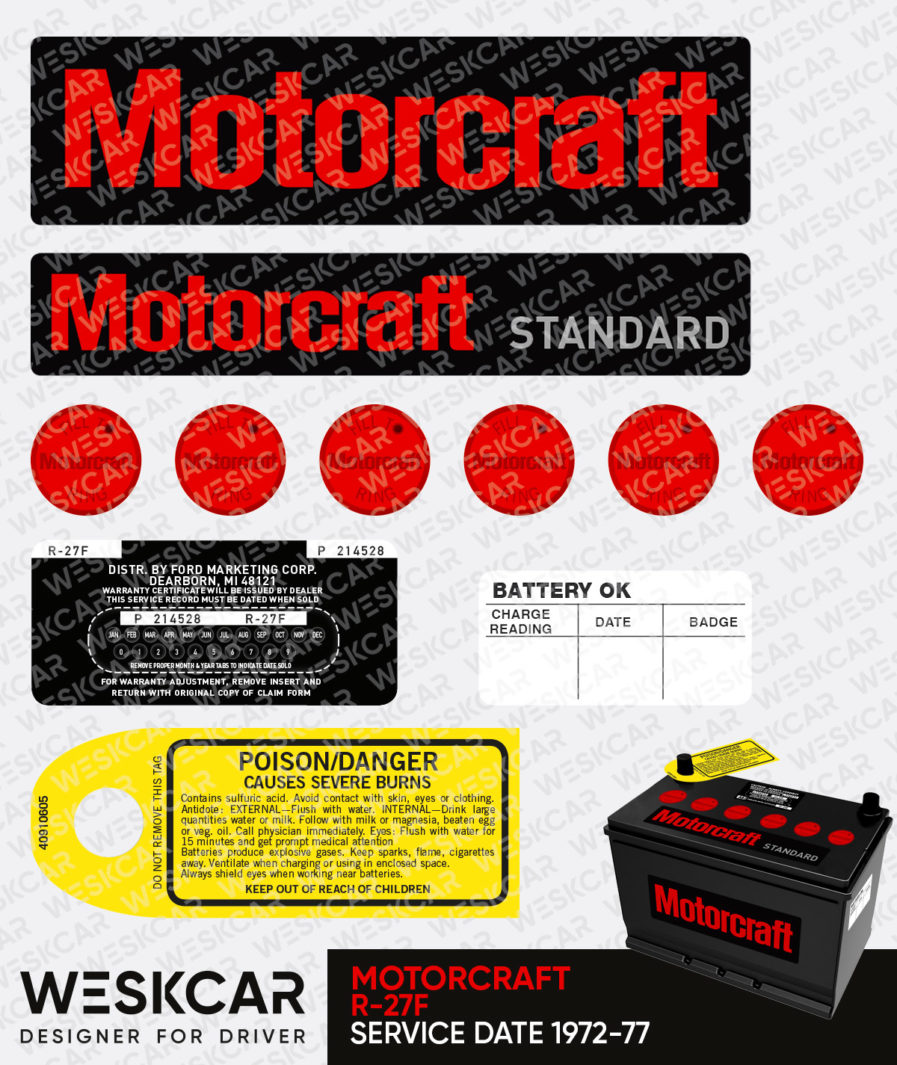 Ford Motorcraft Battery