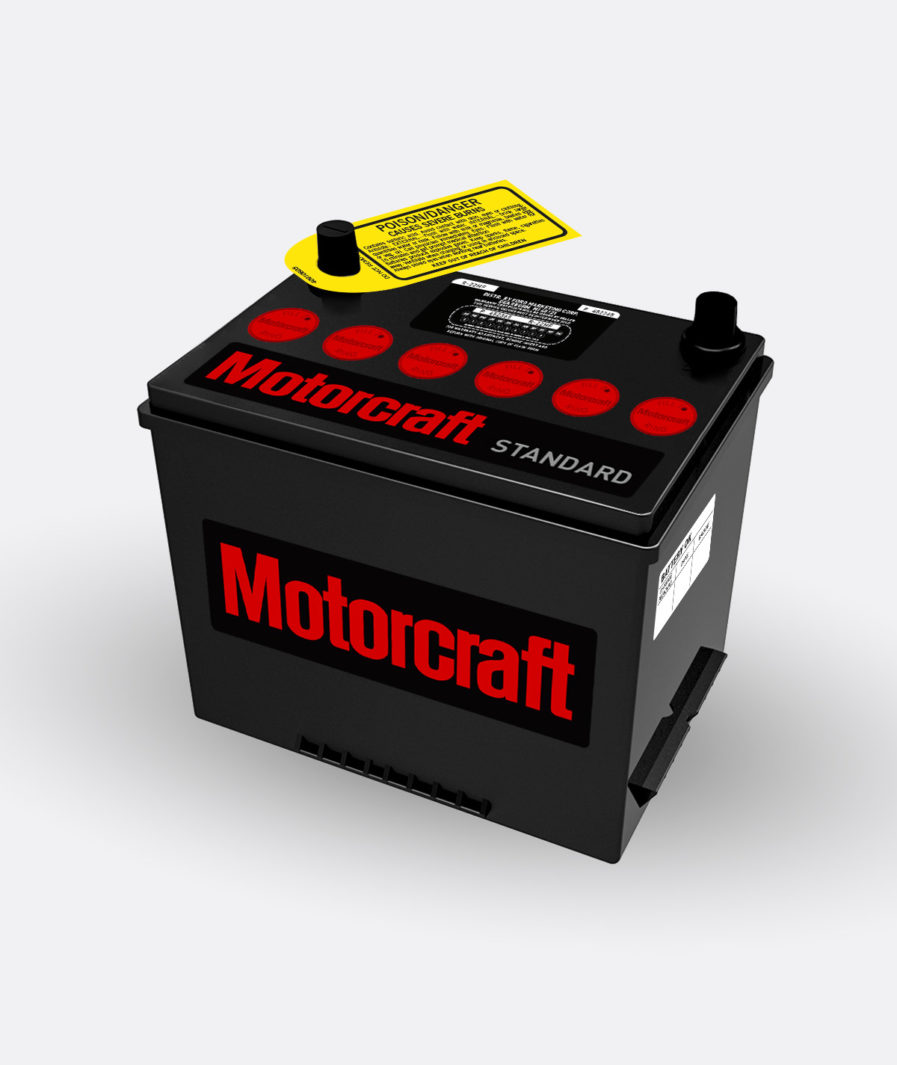 Motorcraft red group 22 battery
