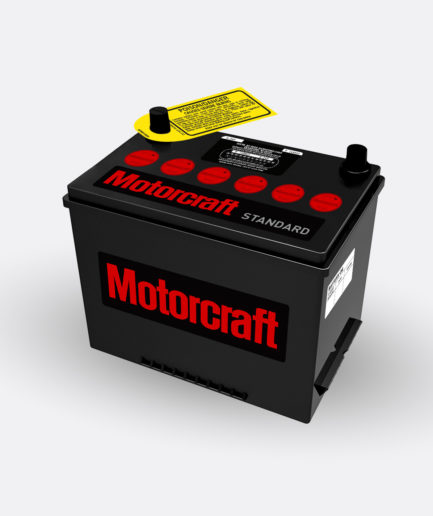 Motorcraft red group 24 battery