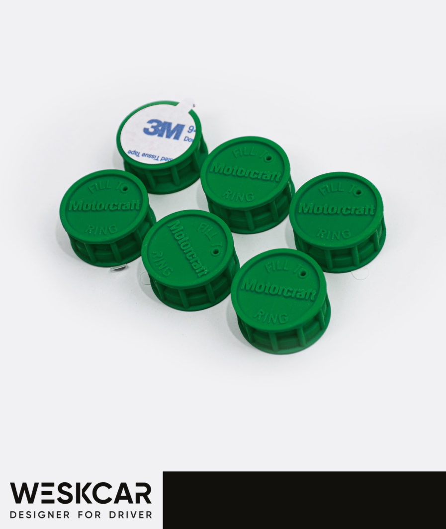 Motorcraft Green battery caps