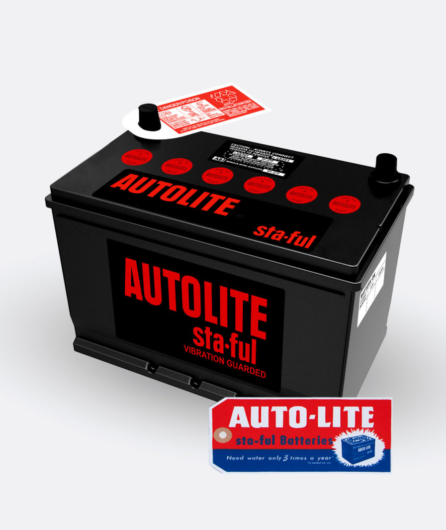 Autolite Red group 27 battery