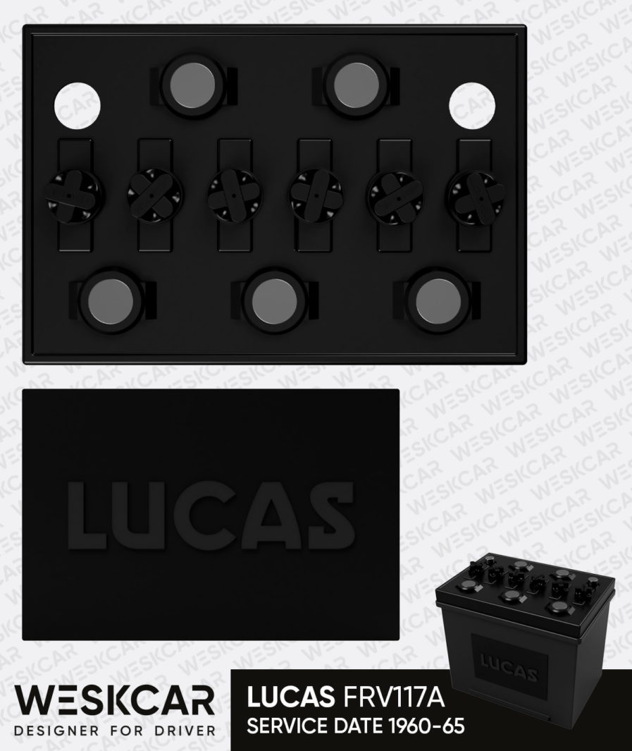 Lucas FRV117A battery topper