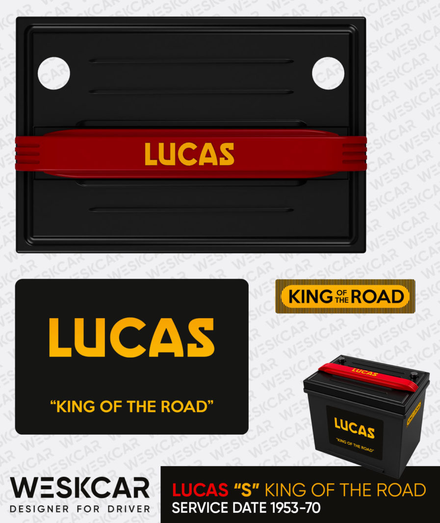 Lucas battery S king of the road