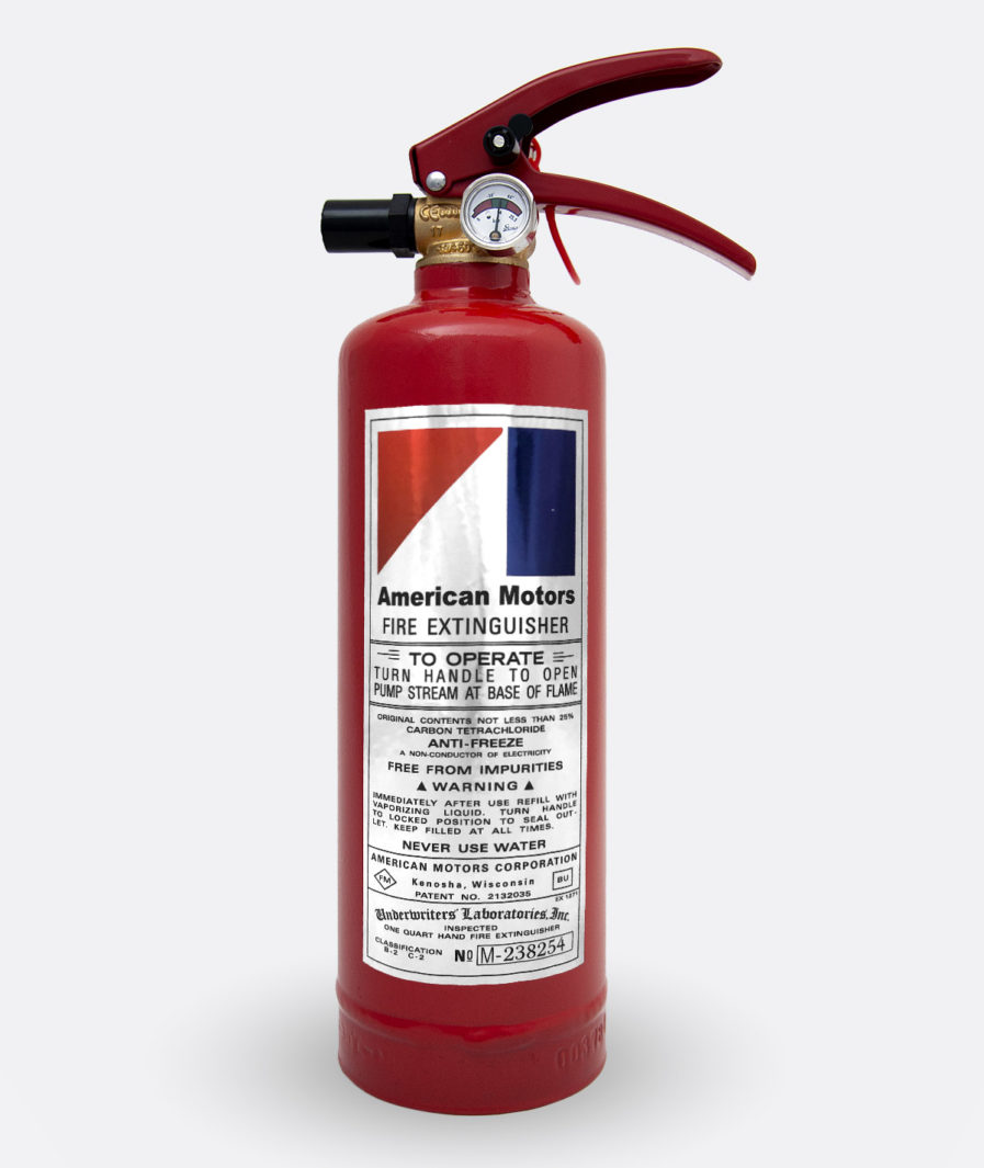 American Motors Fire Extinguisher