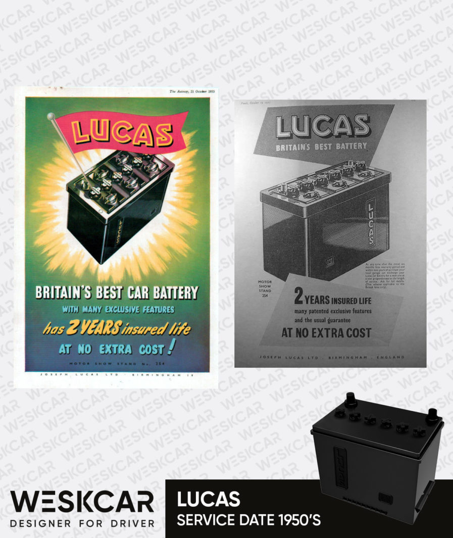 Lucas King of the Road battery