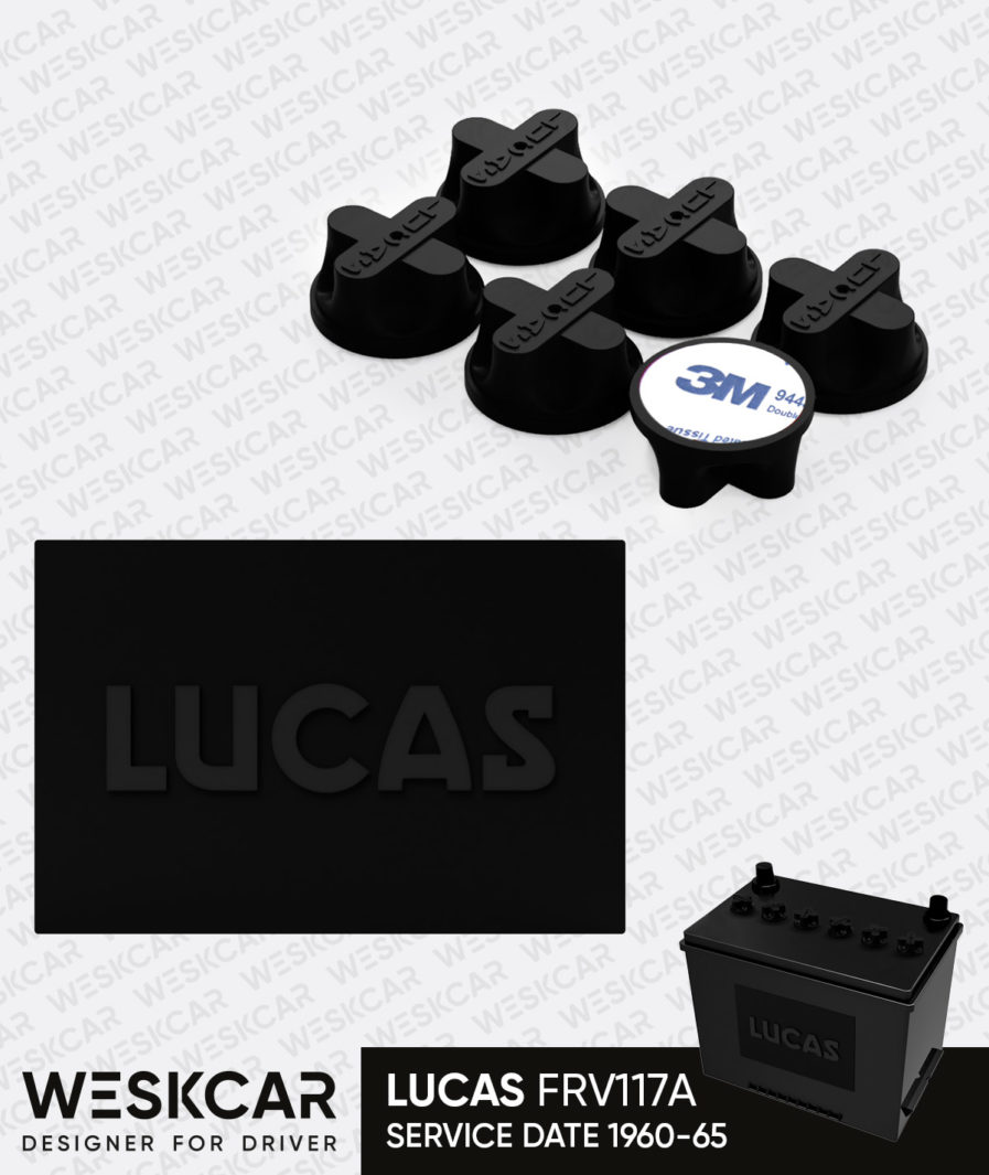 Lucas Battery FRV117A glue caps kit