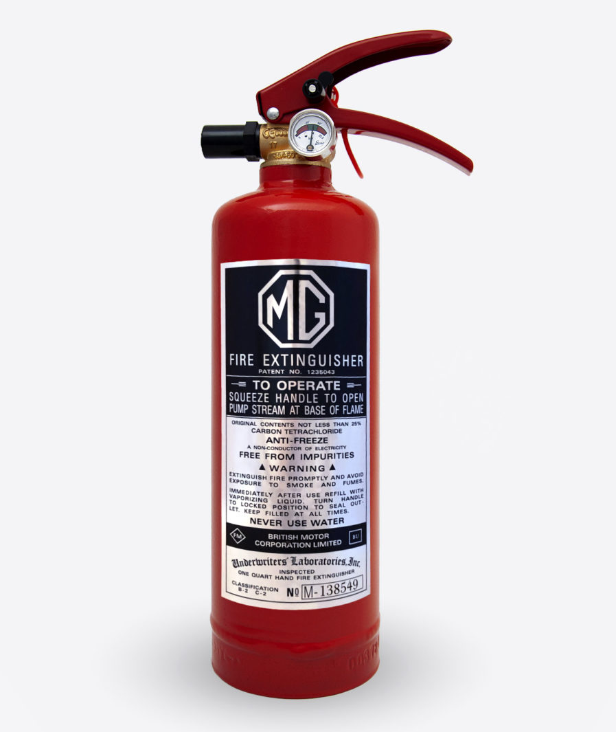 MG Fire extinguisher
