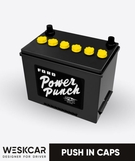 Ford power punch battery yellow